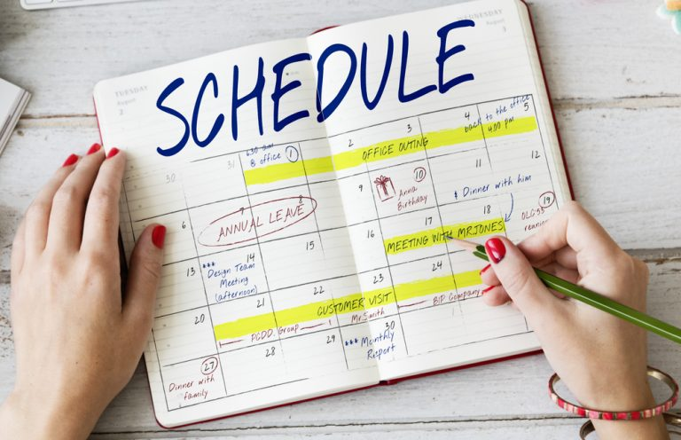 Schedule Schedule Schedule
